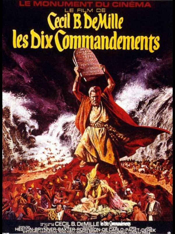 LES DIX COMMANDEMENTS - (1956)