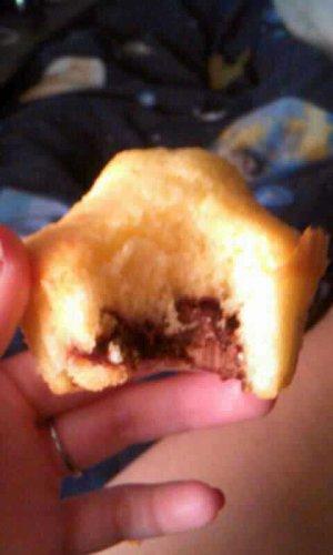 Les muffins coeur de Nutella !