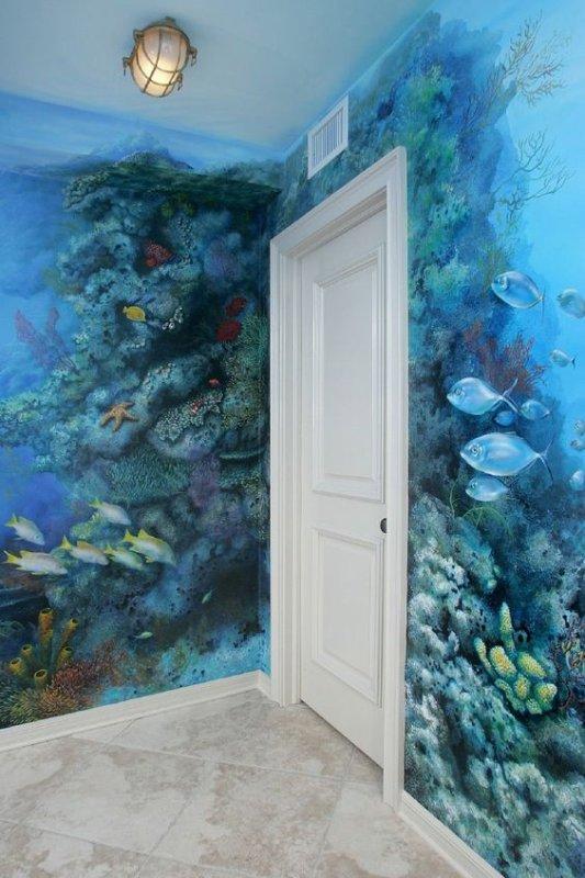 Quelle que endroit de la maison sur le théme de l'ocean magnifique non ? ^^