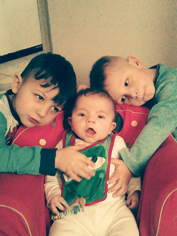 mes trois homme a moi ses ma raison de vie