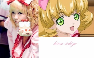Hina-Ichigo de rozen maiden