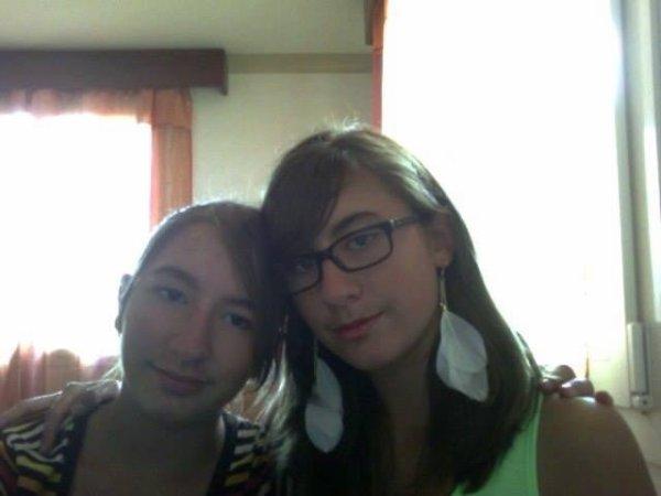 Ma s½ur et moi :)