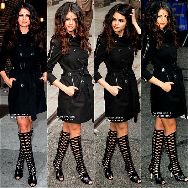 """25/04/13 - Vanessa invitée à l'événement """"Material Girl's"""" retraçant les tenues de Madonna. CET ARTICLE : Selena invitée au """"Late Show de David Letterman"""" puis Selena arrivant sur le plateau de """"Good Morning America""""."""