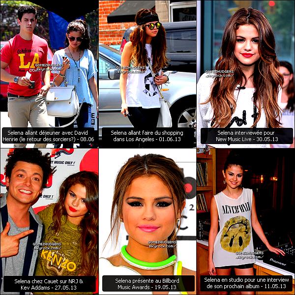RATTRAPAGE - Toutes les news de Selena & Vanessa lors de mon absence.