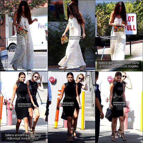 02/08/13 - Vanessa et sa soeur Stella à son cours de yoga, puis faisant du shopping. CET ARTICLE : Vanessa reprenant ses vieilles habitudes (+) Journée chargée pour miss Gomez. Donnez vos avis ^^