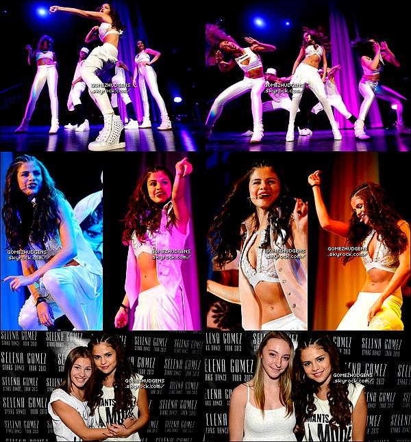 """22/08/13 - Sixième concert pour """"Stars Dance Tour"""" à Ottawa au Canada. Vos avis ? CET ARTICLE : """"Stars Dance Tour"""" (+) promo de """"The Getaway"""" pour Selena (+) Routine pour Vanessa à Studio City."""