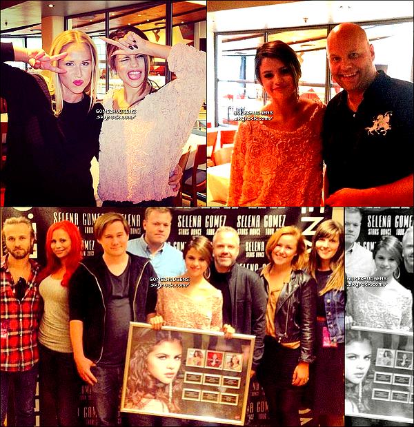 """01/09/13 - Selena est arrivée à Oslo sur le lieu de son concert en Norvège. Vos avis ? CET ARTICLE : Nouveaux concerts pour """"Stars Dance Tour 2013"""" (+) Vanessa vers une destination encore indéterminé."""