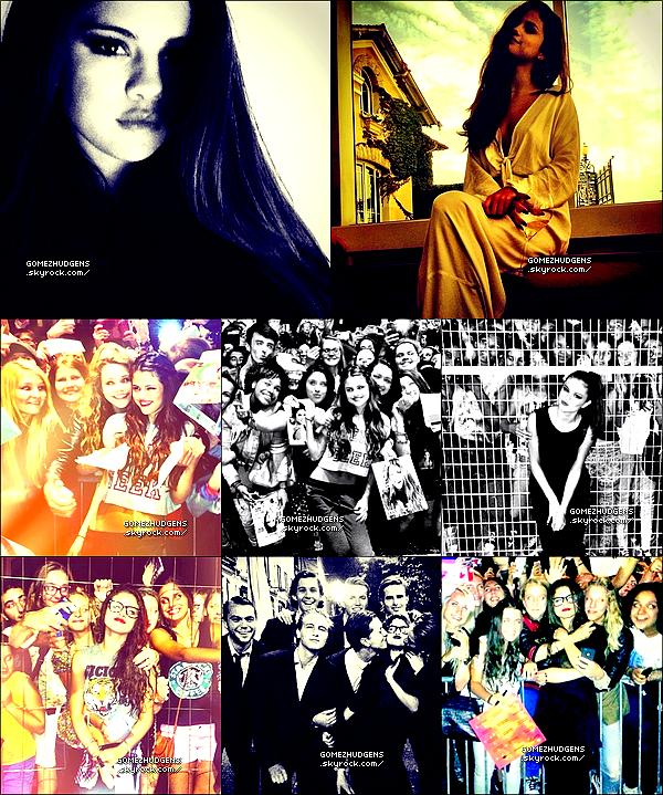"""06/09/13 - Vanessa sur le tournage de son prochain film """"The Kitchen Sink"""". Vos avis ? CET ARTICLE : Selena toujours en concerts pour sa tournée """"Stars Dance Tour"""" explorant les capitales européenne."""