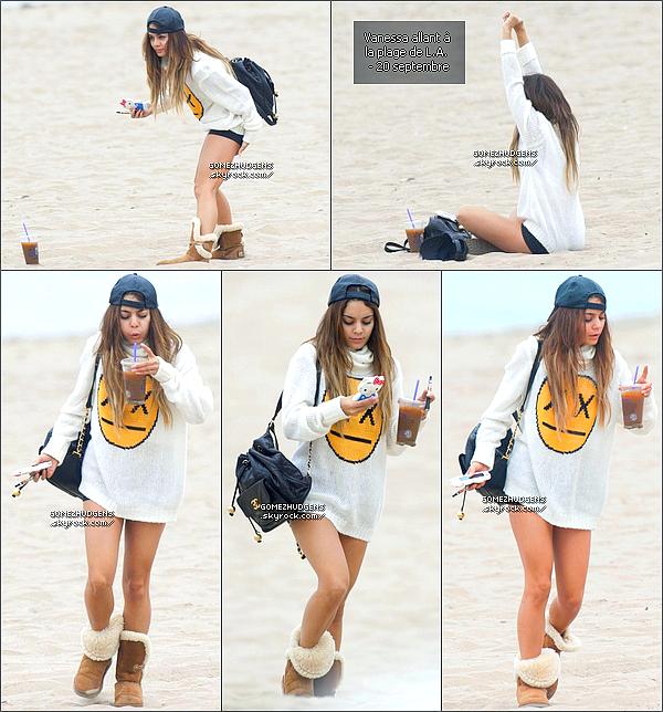 20/09/13 - Selena au défilé Versace pour la Fashion Week qui sait déroulé à Milan CET ARTICLE : Selena sait posée à Milan pour quelques jours (+) Vanessa change (un peu) ses habitudes.