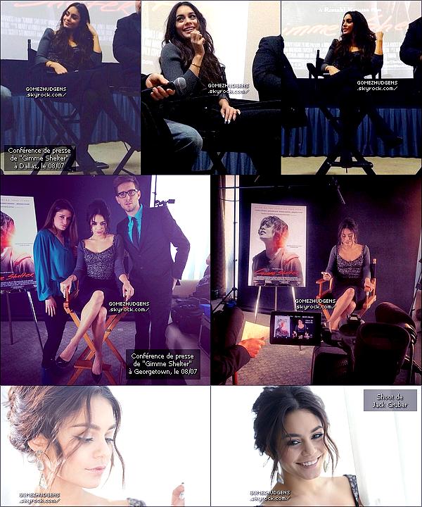 """10/01/14 - Vanessa arrivant à l'aéroport LAX (+) Promo """"Gimme Shelter"""" à Atlanta. CET ARTICLE : Vanessa en pleine promo pour """"Gimme Shelter"""" à travers les Etats-Unis."""