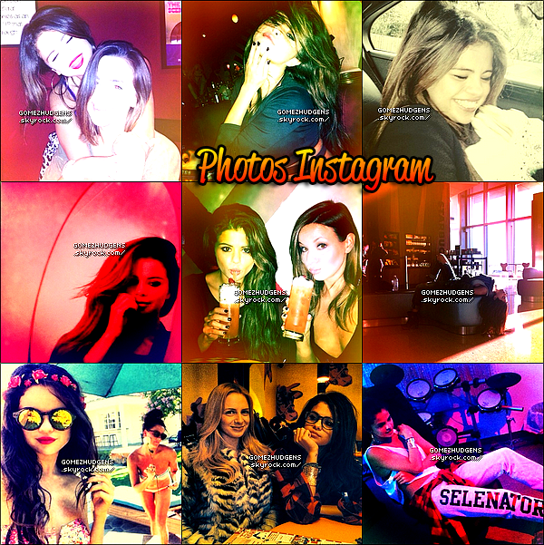 RATTRAPAGE de toutes les news de Selena & Vanessa, fin janvier et février 2014.