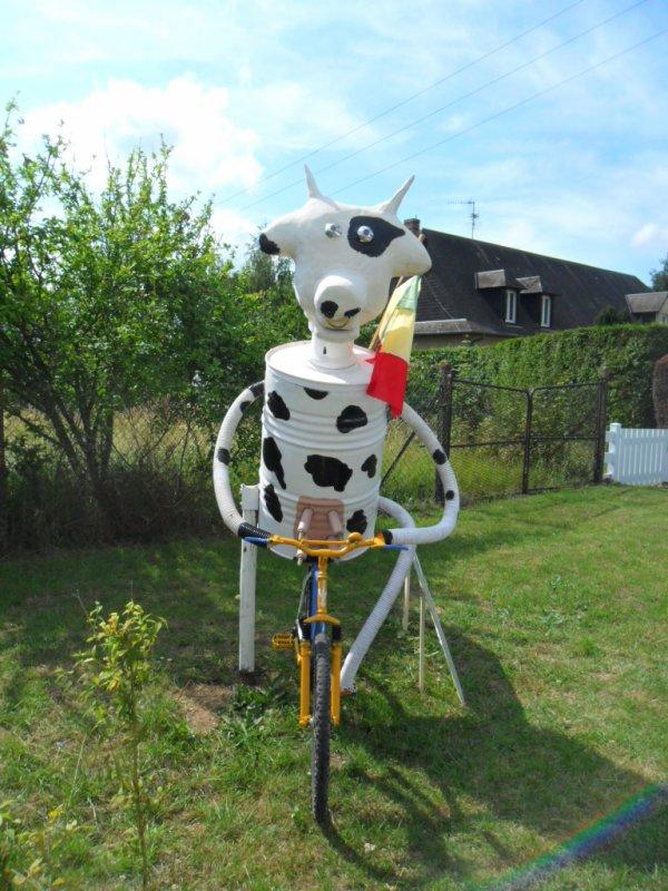 Un projet qu'ont na réaliser moi et mon association pour un concour le festi vache le theme sur le globe troteur