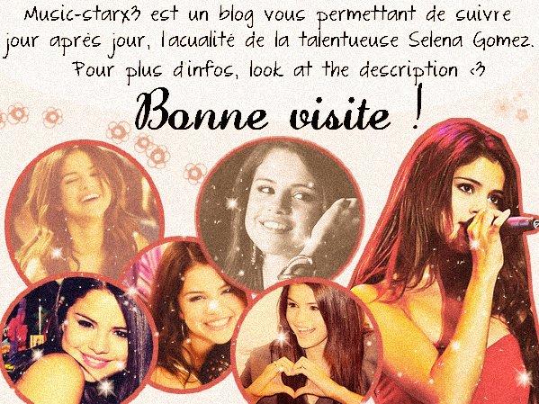 MUSIC-STARX3, ta source sur la splendide Selena Marie Gomez !