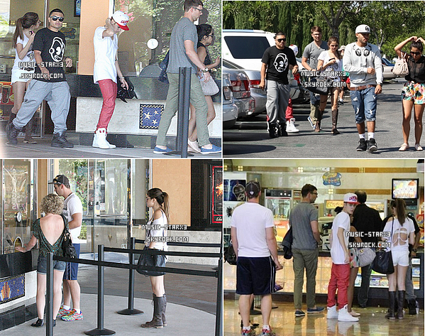 Le soir des TCA, Selena et Justin ont été aperçu quitant le show ensemble se rendant dans un restaurant réputé pour ses diners romantiques. Justin a voulu fêté l'anniversaire de Sel dans de bonnes conditions :P.