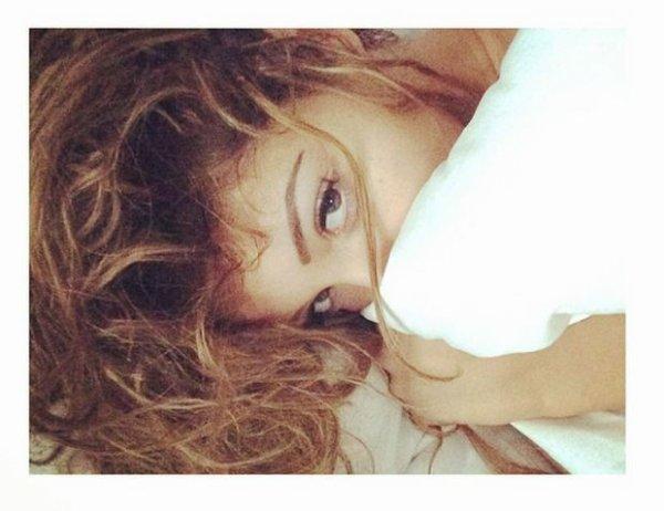 Belle même au réveille... #Nabilla#