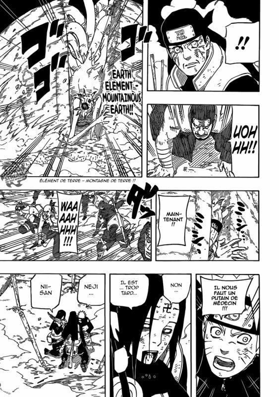SCAN Naruto Shippuden: Chapitre 614 : A toi.