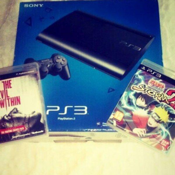 enfin ma PS3 :3