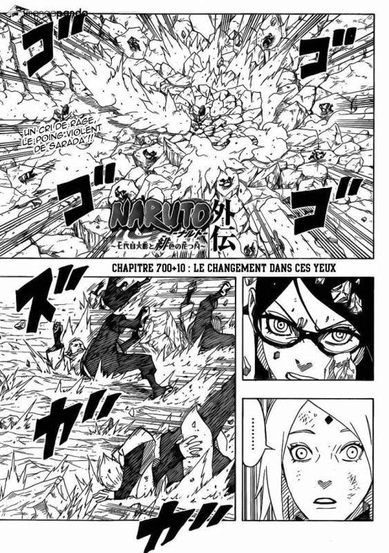 Naruto Gaiden chap 10 et FIN