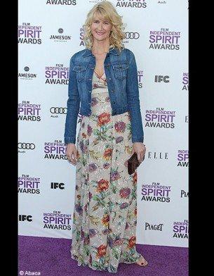 la robe à fleur  : En mode Laura Dern