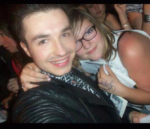 Avec Olympe  le 4/07/2013
