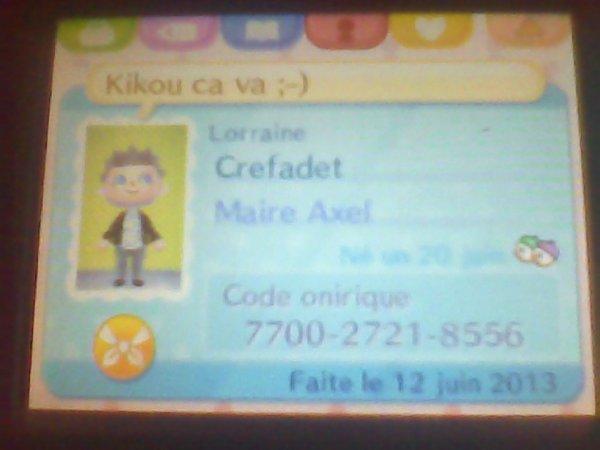 Mon code onirique