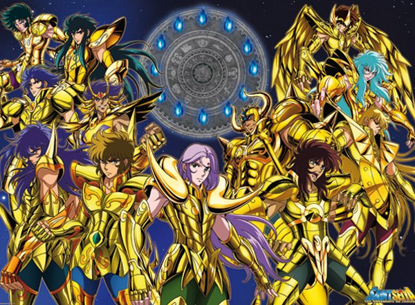 Les chevalier d'or (saint seiya)