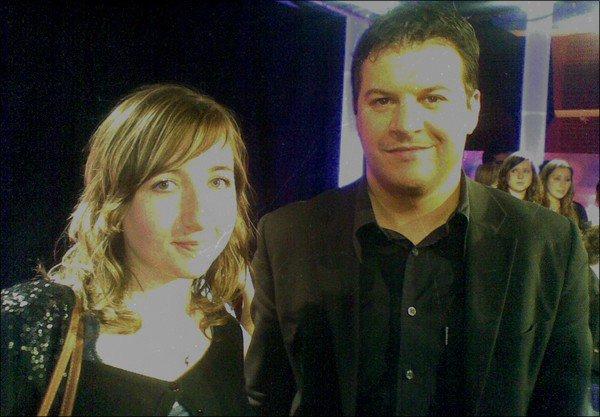 Ma rencontre avec Guillaume Musso : Le 25 Mars 2011 sur le tournage l'émission au Field de la nuit au lycée Pierre de la Ramée.