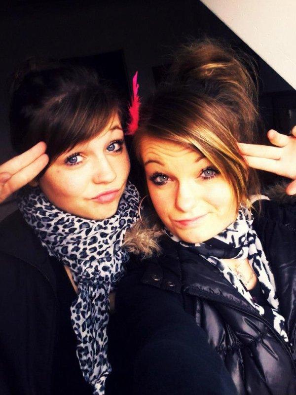 Une meilleure amie, c'est une soeur que la vie a oublié de vous donner.♥