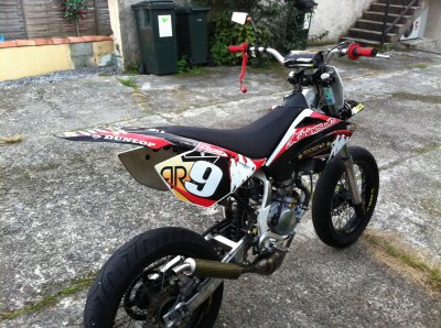 La Beta 80cc du Team Ekoh Racing