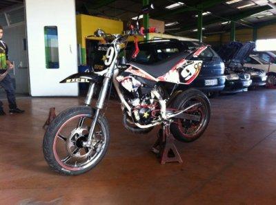 Nouvelles Jantes RS sur la Beta 80cc Ekoh Racing