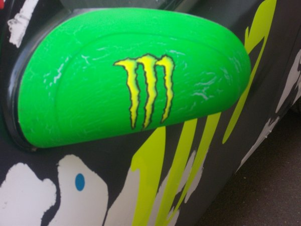"Deco de la voiture ""MONSTER ENERGY"""