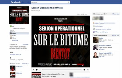 PAGE OFFICIEL SEXION OPERATIONNEL clique sur j'aime