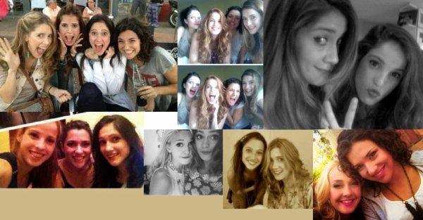 Voici de nouvelles photos des actrices de Violetta ;)