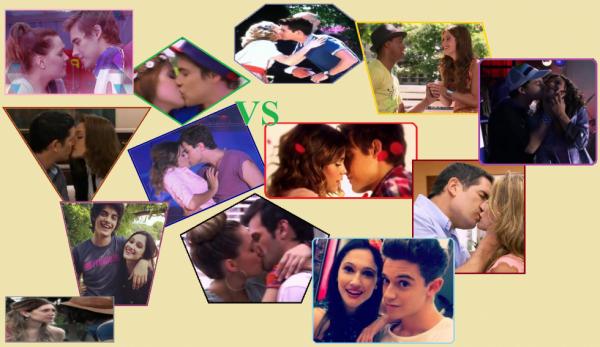 Montage sur tous les couples de la saison 2 de Violetta