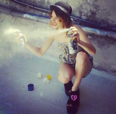 Photoshoot de Tini pour le mag Gente !!! ♥♥