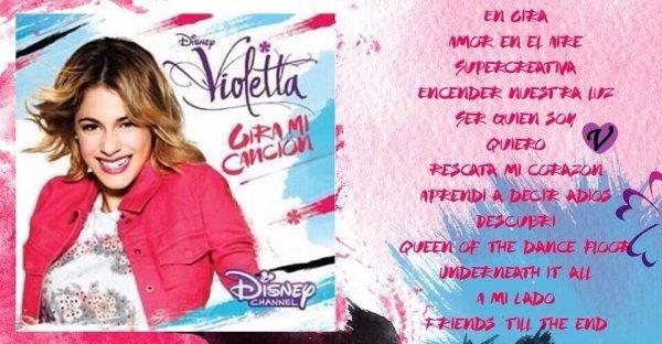 Exclusivit les photos promotionnelles et les titres - Musique de violetta saison 3 ...