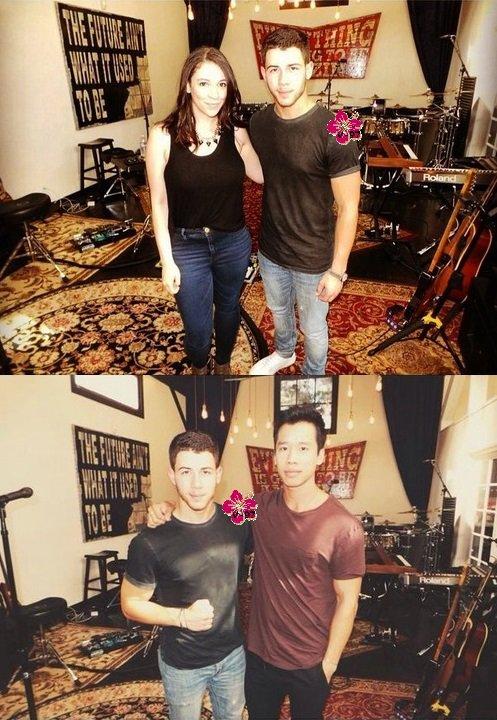 Nick Jonas a interprété ses nouvelles chansons lors d'un concert en Californie !!