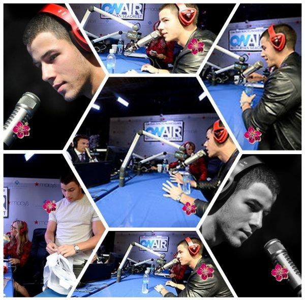 Demi Lovato à la journée nationale de l'association NAMI & Interviews de Nick Jonas