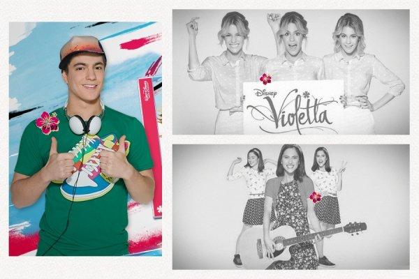 ¡¡ Promotion de Violetta 3 & de Violetta Live !!