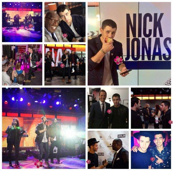 → Nick Jonas en concert, à la radio...