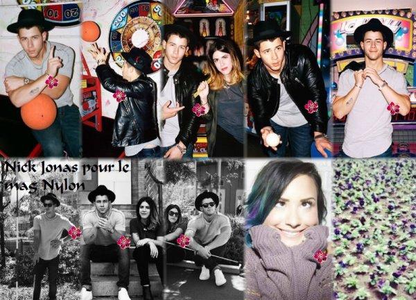 Nick Jonas en Live à L.A. + son photoshoot pour le mag Nylon + son interview !!