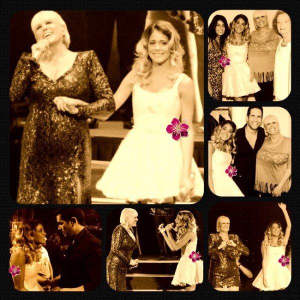 News de Tini !! Elle & Peter étaient au gala de l'hôpital San Isidro, Martina Stoessel a participé au concert de Valeria Lynch en chantant avec elle...