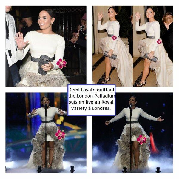 News de Demi → En visite à Amsterdan, au Royal Variety à Londres...