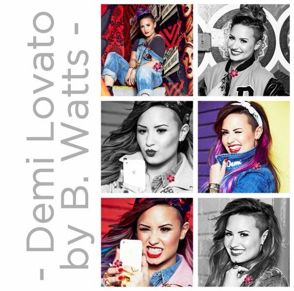→ Nouveau photoshoot de Demi Lovato + sa venue chez Cauet !!