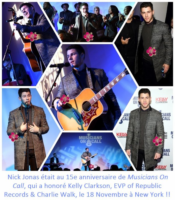 Nick Jonas à la parade de Thanksgiving & à l'émission the Meredith Vieira Show