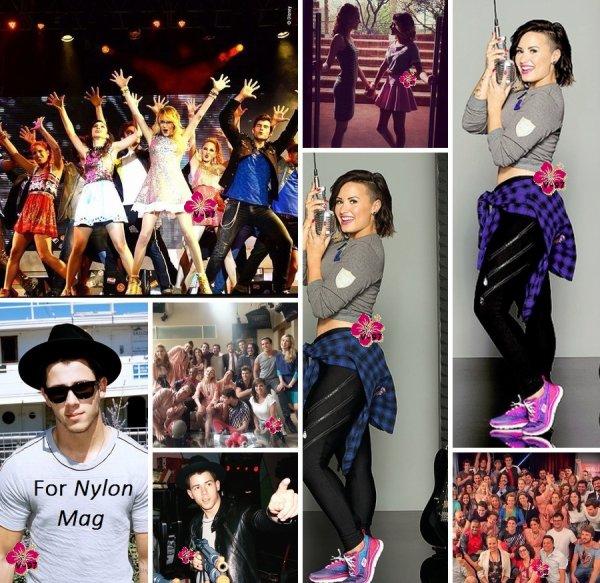 News de Nick Jonas, Demi Lovato & Martina Stoessel
