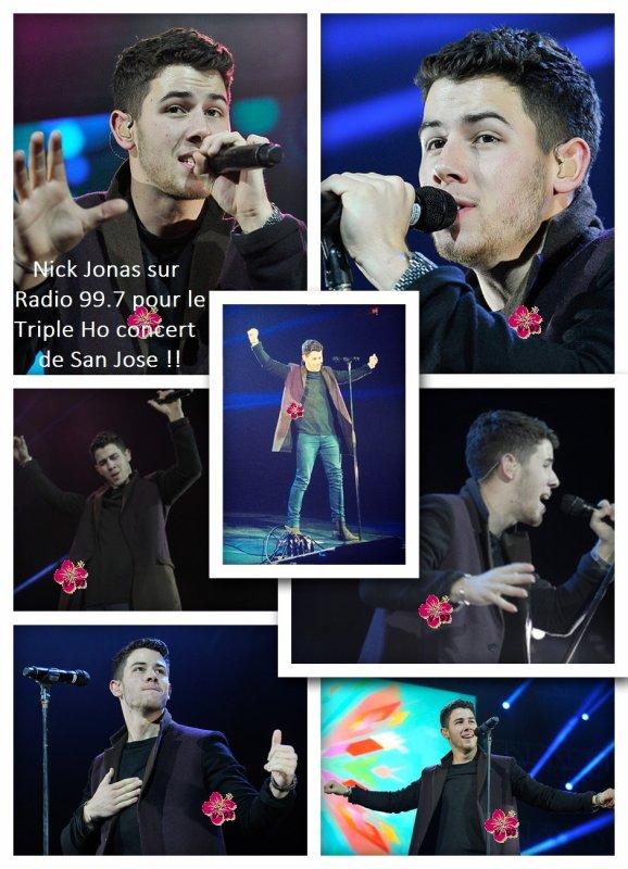 Nick Jonas, Demi Lovato, Bea Miller & plein d'autres étaient au Triple Ho concert à San José !!