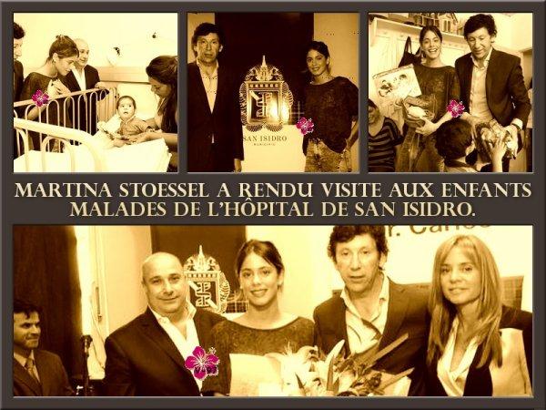 Martina Stoessel à une conférence de presse & à l'hôpital de San Isidro + Bonus