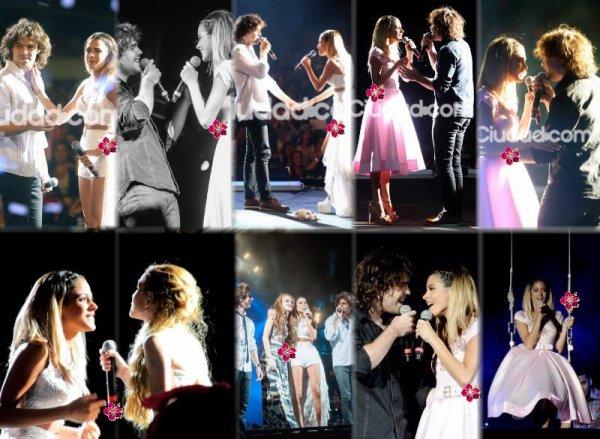 Martina Stoessel, Mercedes Lambre, Peter Lanzani et beaucoup d'autres ont participé au Eco Fashion Show !!