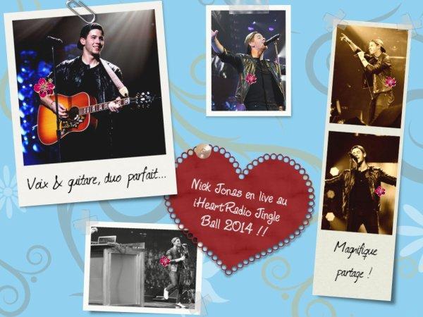 Nick Jonas en concert !!